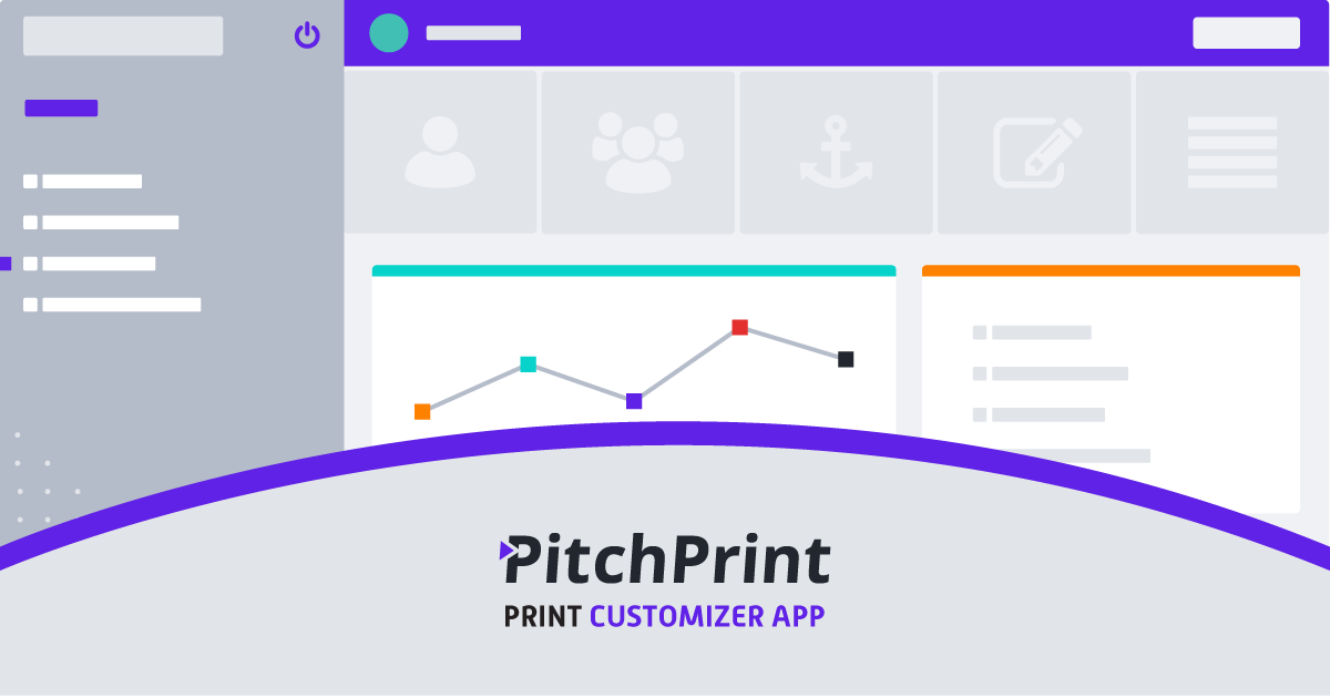 Web2Print customizer with 3D preview - PitchPrint